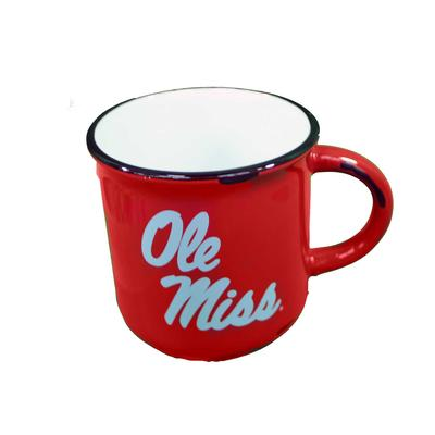 OLE MISS VINTAGE WESTERN 15OZ MUG RED