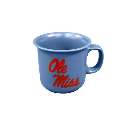OLE MISS THE NATURAL 14OZ MUG BLUE
