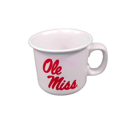 OLE MISS THE NATURAL 14OZ MUG WHITE