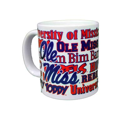 20oz Ole Miss Wordmark Xxl Ceramic Mug