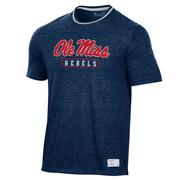 OLE MISS UA GAMEDAY DOUBLE RINGER TEE