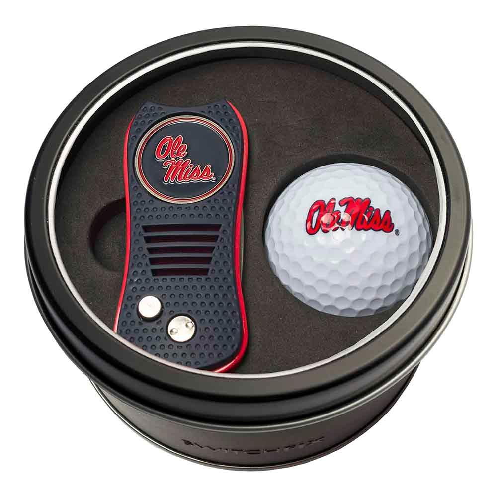 Ole Miss Switch Ball Tin