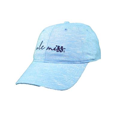 OLE MISS LADIES SOFT HEATHER CAP