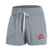 OLE MISS GIRLS PERFORMANCE COTTON SHORT