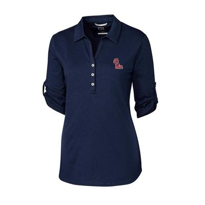 OM ES THRIVE POLO LIBERTY_NAVY