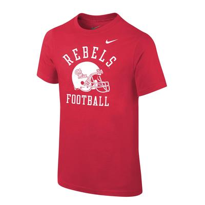 OLE MISS CORE COTTON SS TEE RED