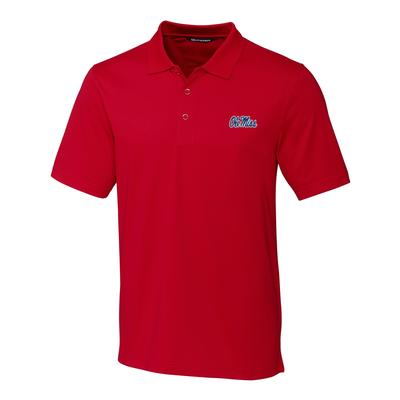 OLE MISS FORGE POLO RED