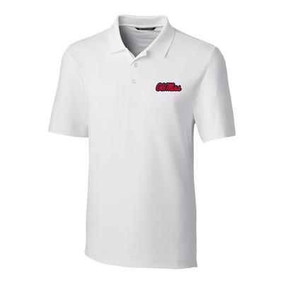 OLE MISS FORGE POLO WHITE