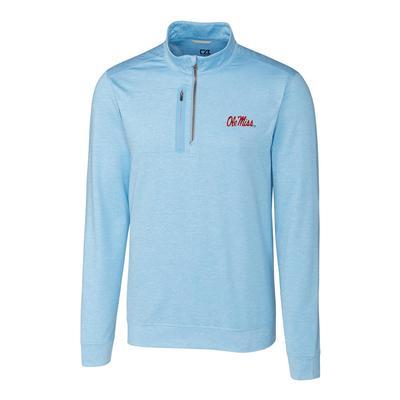 OLE MISS STEALTH HALF-ZIP