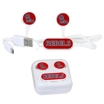 Ole Miss Rebels Seymour Wireless Earbuds