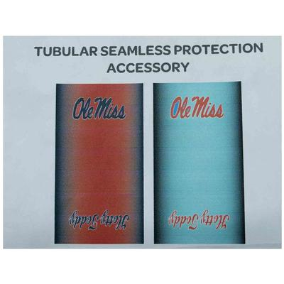 OLE MISS HOTTY TODDY TWO TONE NECK GAITER MULTI WEAR FACE COVER