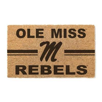 OLE MISS REBELS 18X30 DOORMAT