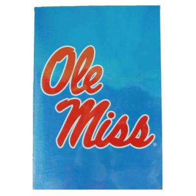 28X40 OLE MISS BANNER LIGHT_BLUE