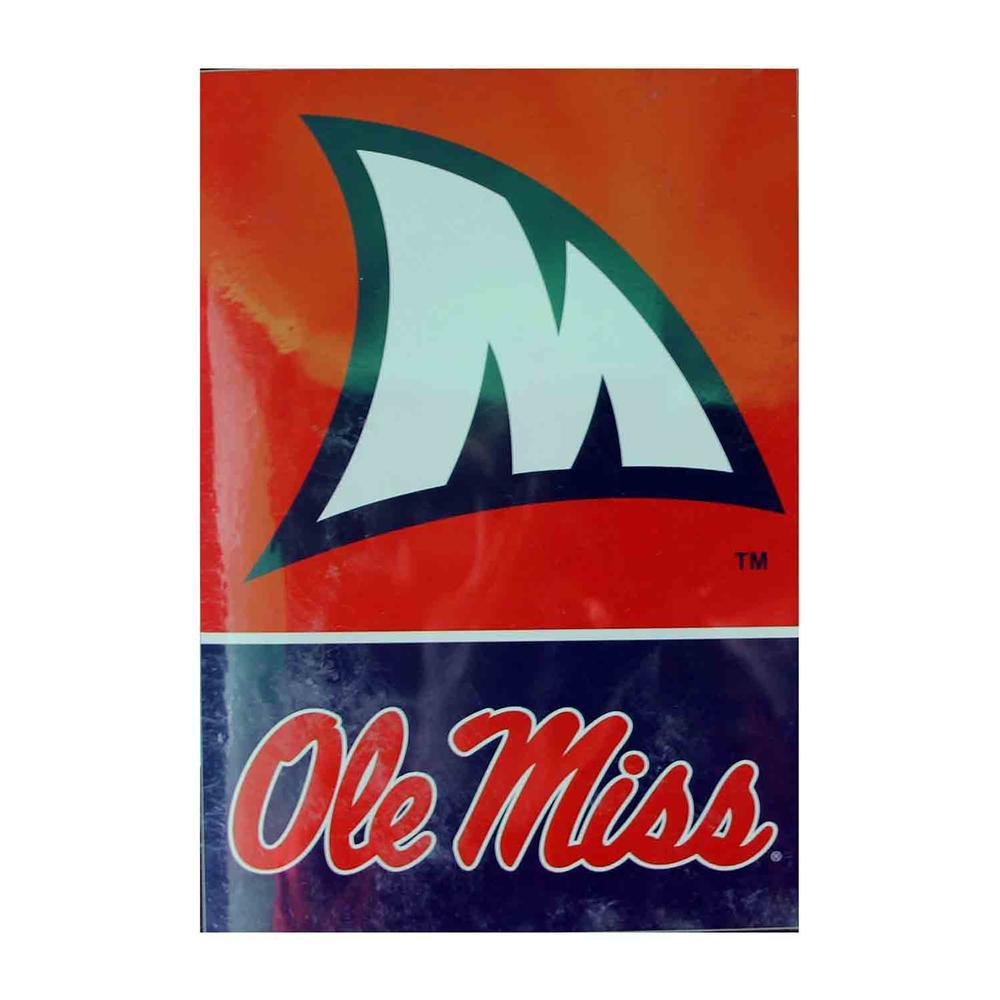 28x40 Ole Miss Sharkfin Banner