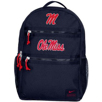 OLE MISS NIKE OFFICIAL UTILITY HEAT BACKPACK NAVY