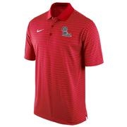 OLE MISS STADIUM STRIPE POLO