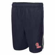 OLE MISS BOYS NIKE FRANCHISE SHORT