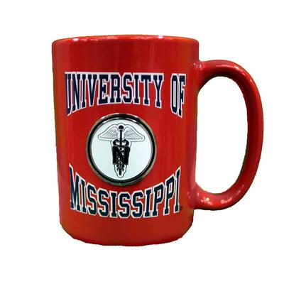 CANCUN NURSING MEDALLION MUG RED