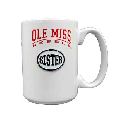 WHITE SISTER MEDALLION MUG