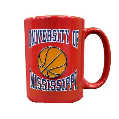 CANCUN BASKETBALL MEDALION MUG