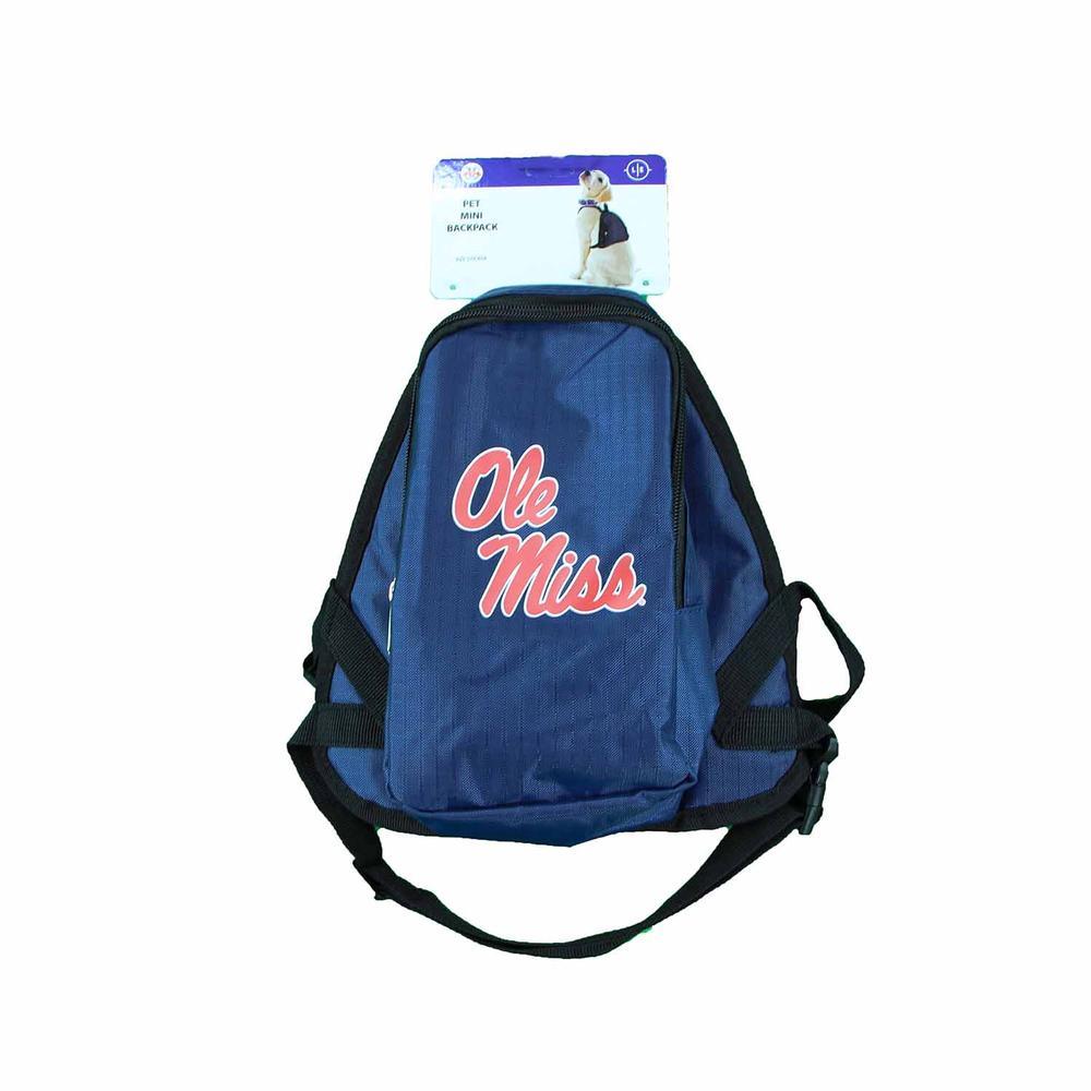 Ole Miss Pet Mini Backpack