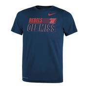 TODDLER REBELS M OLE MISS TEE