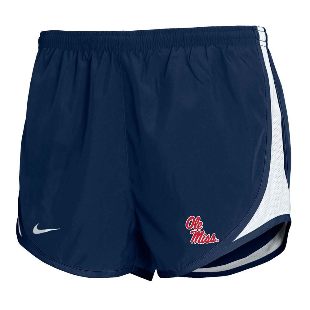 Girls Stacked Ole Miss Tempo Short