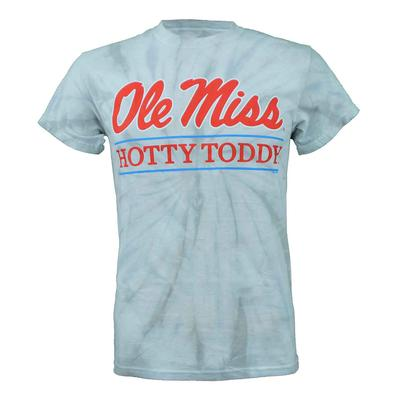 TIE-DYE OLE MISS HOTTY TODDY BAR SS T-SHIRT SPIDER_SILVER