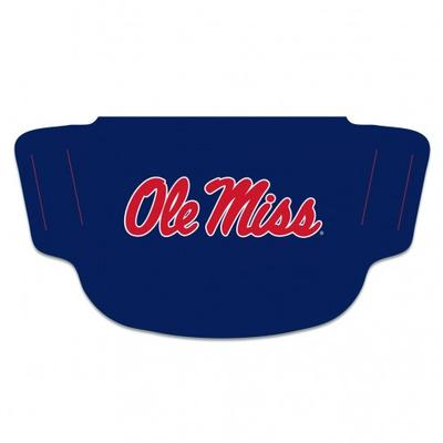 OLE MISS FAN MASK FACE COVER