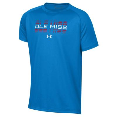 S19 BOYS OLE MISS TECH TEE
