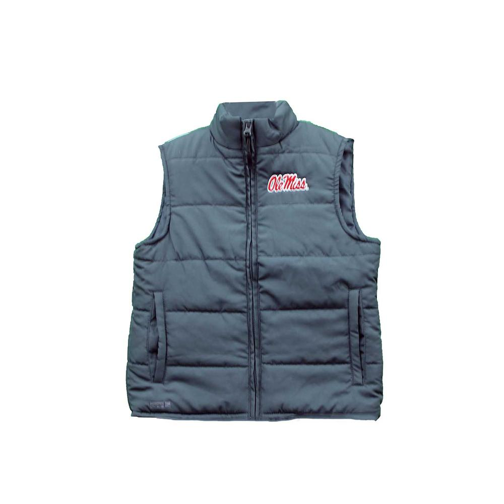 Ole Miss Taylor Toddler Puffy Vest