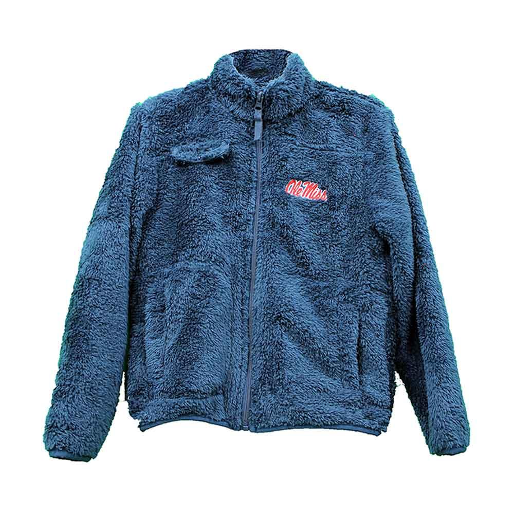 Toddler Ole Miss Sherpa