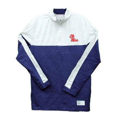 OLE MISS UA GAMEDAY QTR ZIP
