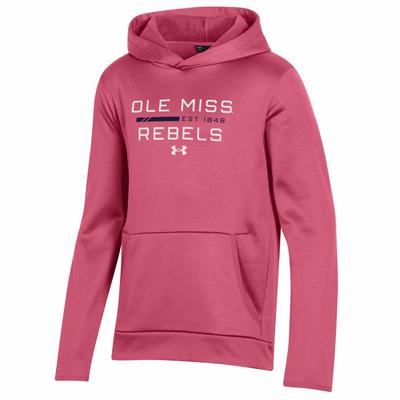 YOUTH OLE MISS REBELS ARMOUR FLEECE