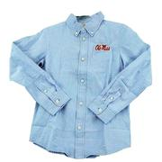 OLE MISS YOUTH COLE LS WOVEN GINGHAM