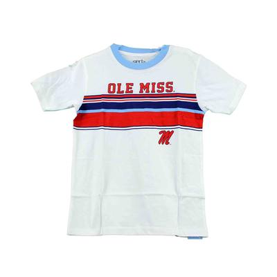 OLE MISS SS CODY STRIPE RINGER TEE LIGHT_BLUE
