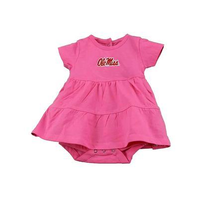 OLE MISS INFANT FIA DRESS PINK