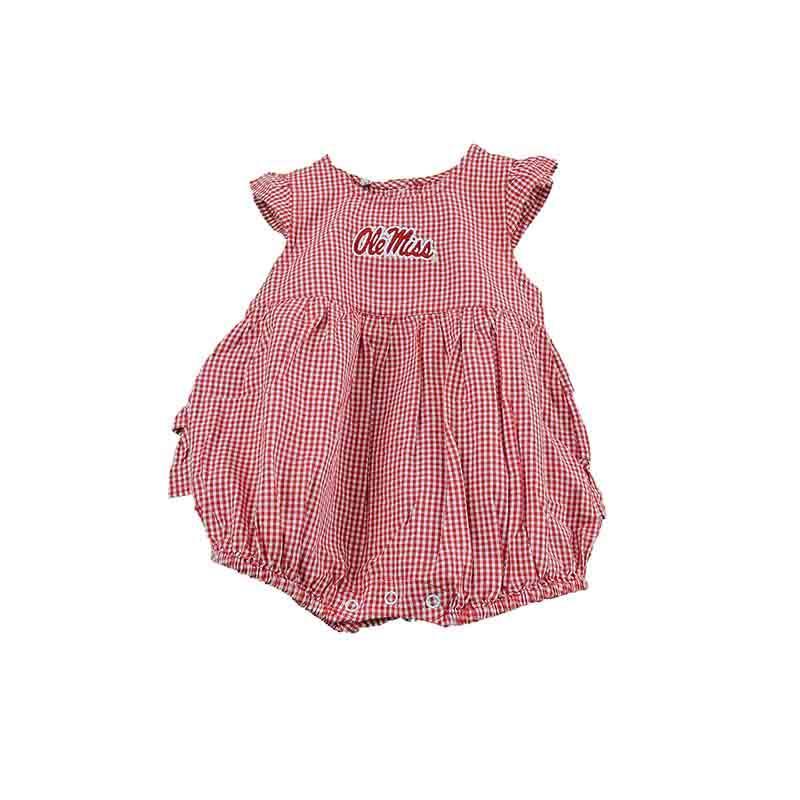 Ole Miss Infant Gingham Jillian Dress