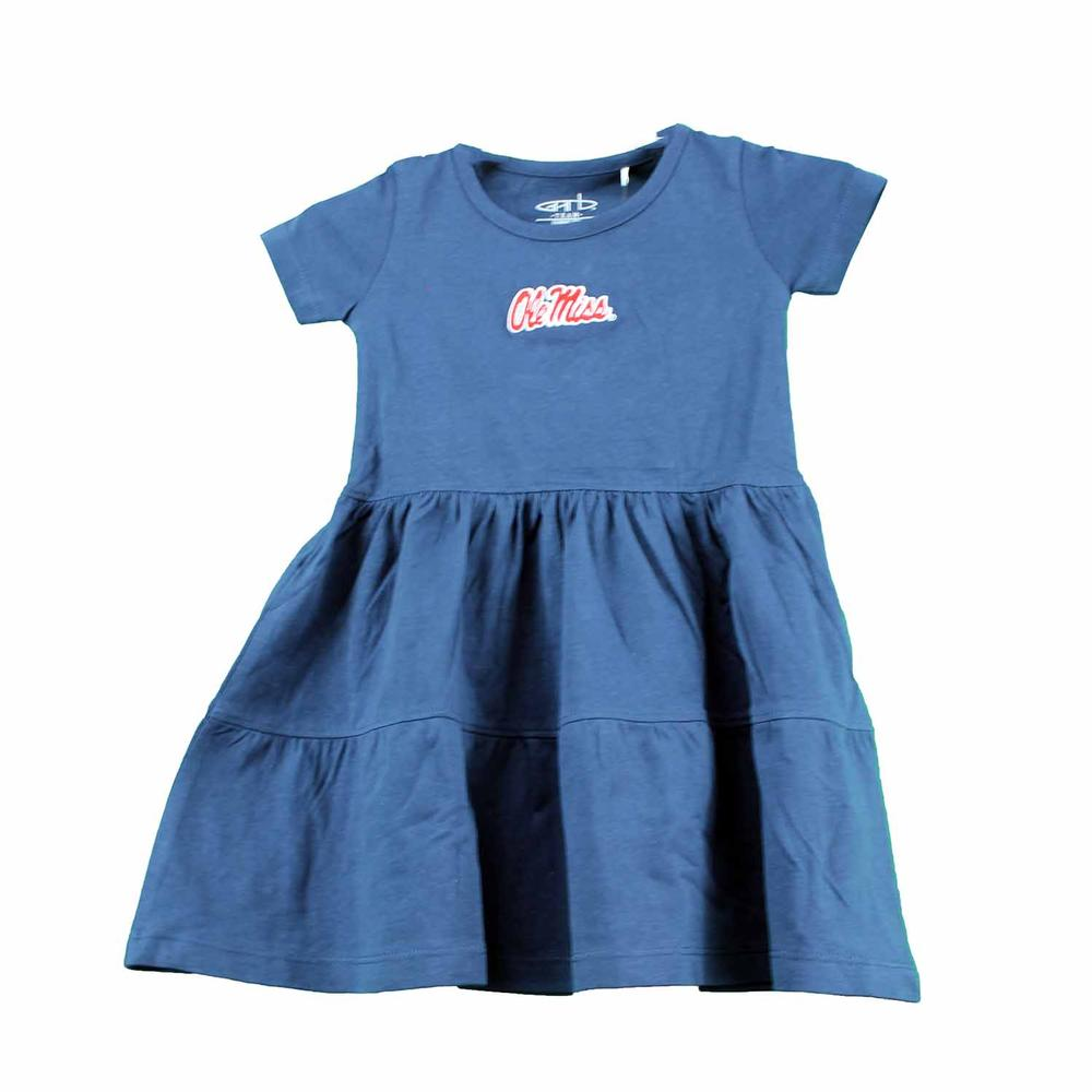 Ole Miss Toddler Fia Dress