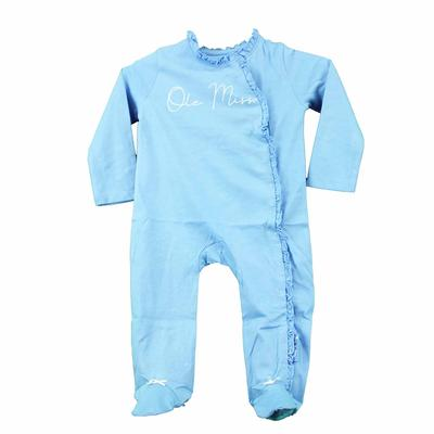 INFANT VIVIAN FOOTIE WITH RUFFLE