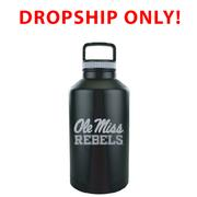 OLE MISS REBELS VACUUM INSULATED STAINLESS STEEL GROWLER