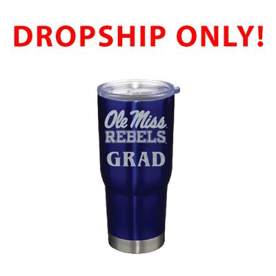 VACUUM INSULATED STAINLESS STEEL GRAD TUMBLER BLUE