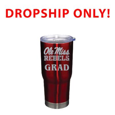 VACUUM INSULATED STAINLESS STEEL GRAD TUMBLER RED