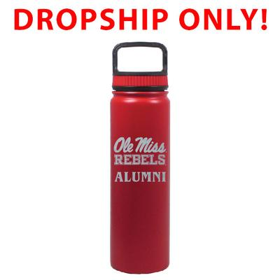 VACUUM INSULATED STAINLESS STEEL ALUMNI EUGENE BOTTLE RED