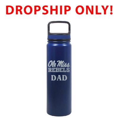 VACUUM INSULATED STAINLESS STEEL DAD EUGENE BOTTLE BLUE