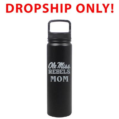 VACUUM INSULATED STAINLESS STEEL MOM EUGENE BOTTLE BLACK