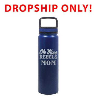 VACUUM INSULATED STAINLESS STEEL MOM EUGENE BOTTLE BLUE