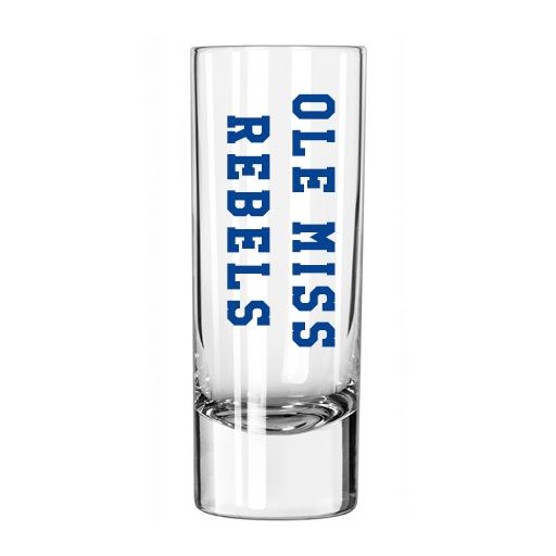 Ole Miss Shooter Shot Glass