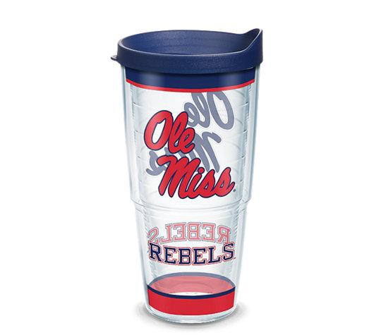 Ole Miss Rebels Tradition 24oz With Lid