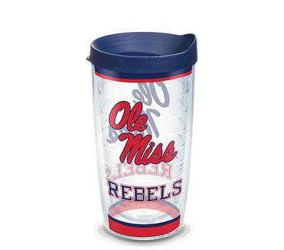 OLE MISS REBELS TRADITION 16OZ WITH LID